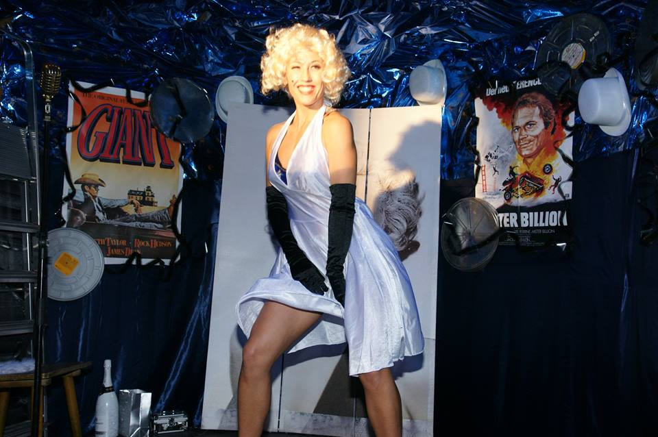Marilyn Monroe Show - Marilyn wäre sicher stolz gewesen über die würdige Vertretung bei einer erotischen VIP-Strip-Show
