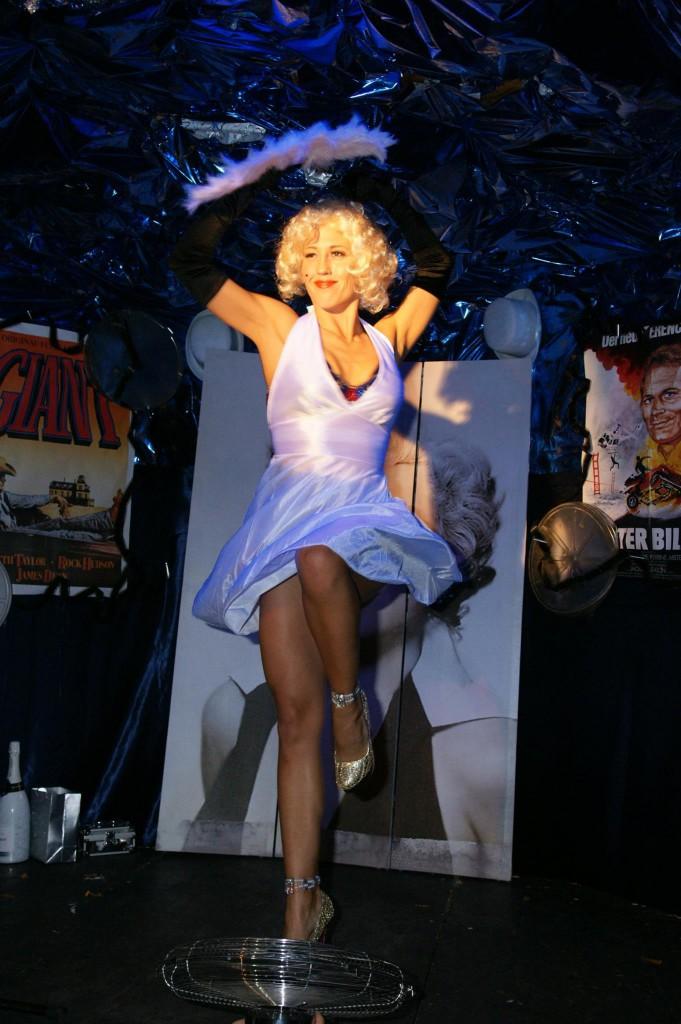Marilyn Monroe Show - es geht los
