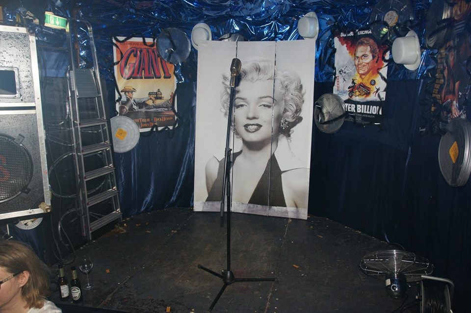 Marilyn Monroe Show - die Bühne